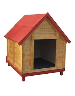 Im casa para perros de madera im - Casa perros madera ...